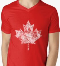 Canada Established 1867 Anniversary 150 Years Men's V-Neck T-Shirt