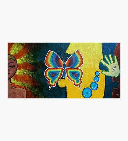 Freedom as a Butterfly, Vibes that Radiate Photographic Print