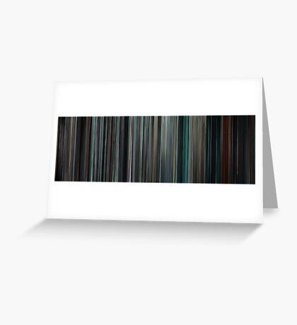Moviebarcode: Insidious (2010) Greeting Card