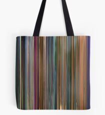Moviebarcode: Meet the Robinsons (2007) Tote Bag