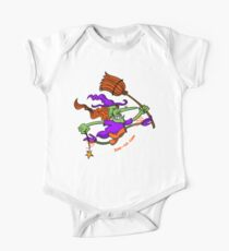 Crazy Witch Jumping Kids Clothes