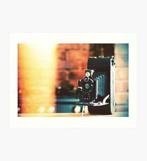 vintage camera. Art Print