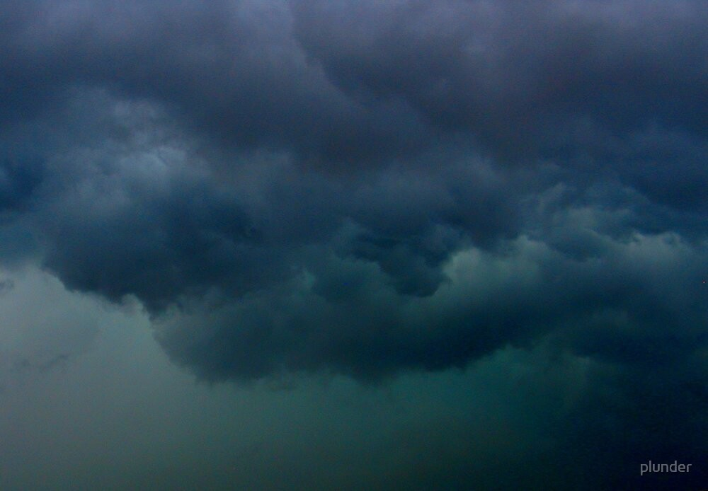 Evening Storm by plunder