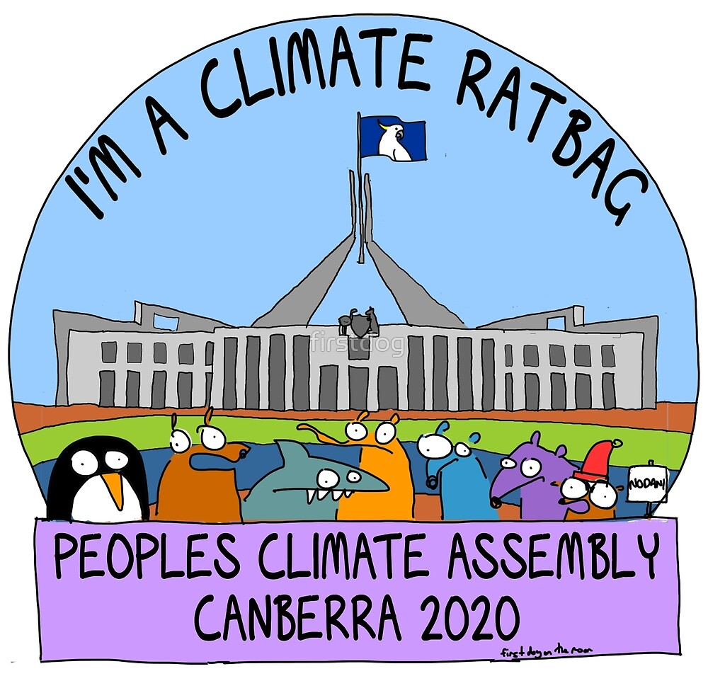 I'm a Climate Ratbag by firstdog