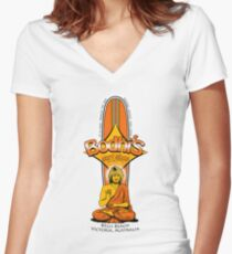 Bodhi's Surf Shop Women's Fitted V-Neck T-Shirt