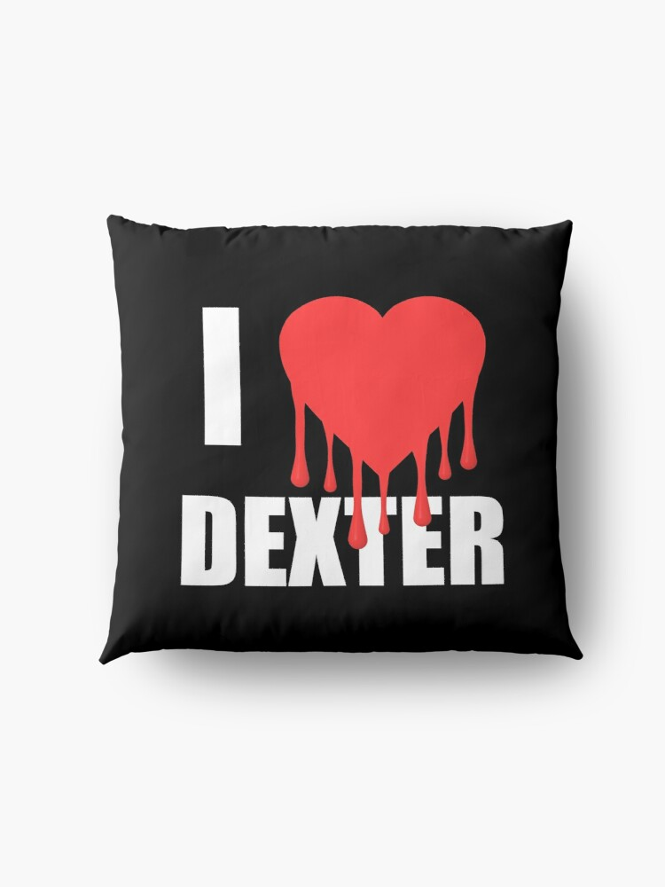 Alternate view of I Love Dexter Floor Pillow