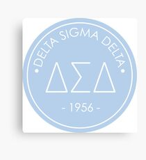 Delta Sigma Delta Circle Canvas Print
