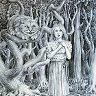 Alice and the Cheshire Cat by HDPotwin