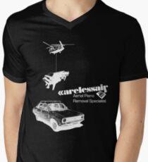 Careless Air (dark shirt) Men's V-Neck T-Shirt