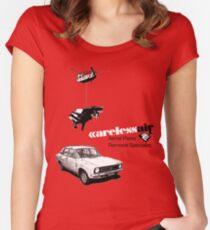 Careless Air Women's Fitted Scoop T-Shirt