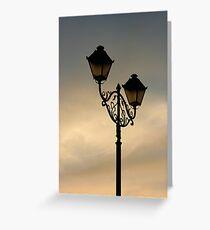Lantern Grußkarte