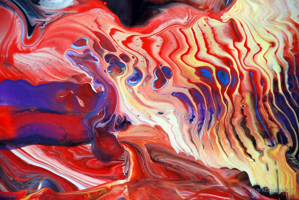 Flowing Acrylic Colours by markchadwick