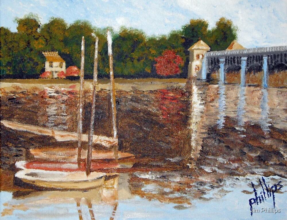 Study of Monet's A Bridge at Argenteuil by Jim Phillips