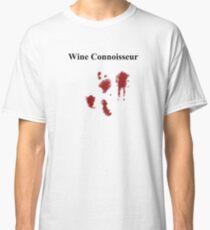 Wine Connoisseur. Classic T-Shirt