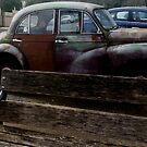 Rusty Morris Minor by canonsnapa