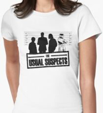 The Usual Suspects Womens Fitted T-Shirt