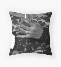 Welcome Home Baby Throw Pillow