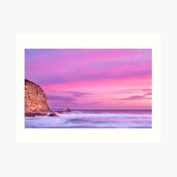Cape Deslacs Sunset Art Print