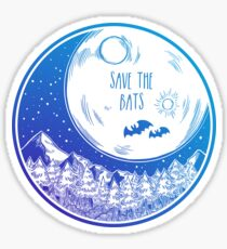 Save the Bats! Sticker