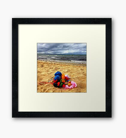 Felix - Nest With A View Framed Print