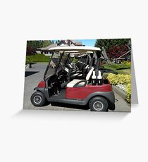 Golf Perspective Greeting Card
