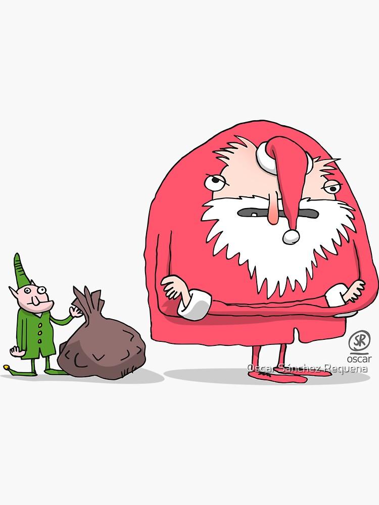 Santa Claus pissed off by oscarsanchez