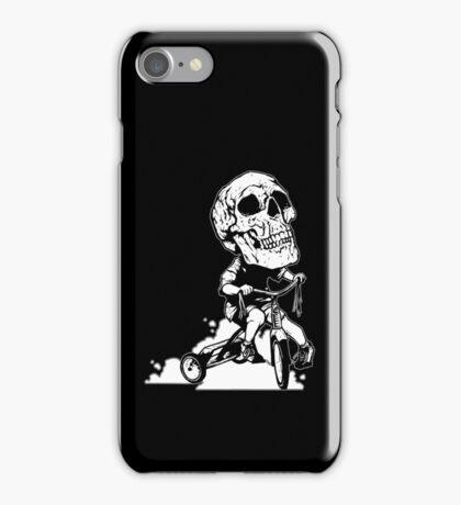 BigHeadSkullKid iPhone Case/Skin
