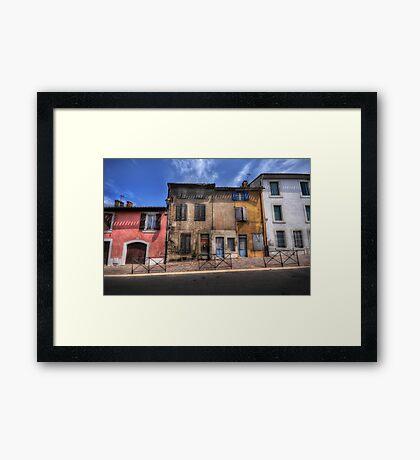 Dwellings of Carcassonne Framed Print