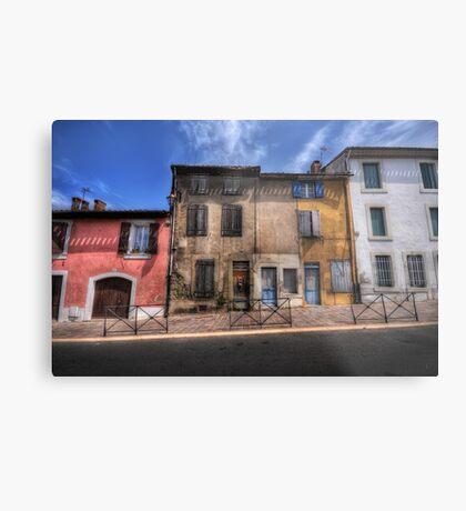 Dwellings of Carcassonne Metal Print