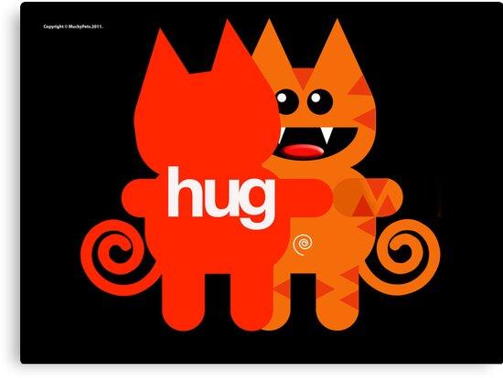 KAT HUG by matt40s
