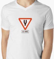 Tuning Fork - Music Tee Mens V-Neck T-Shirt