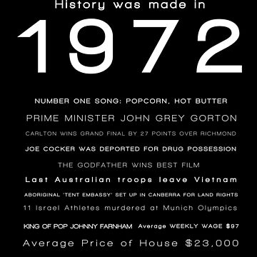 1972 - YEAR OF BIRTH by greenstonetype