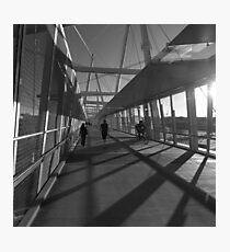 Walking Home Photographic Print
