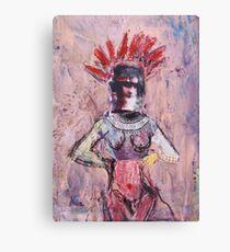 Beauty Queen Canvas Print