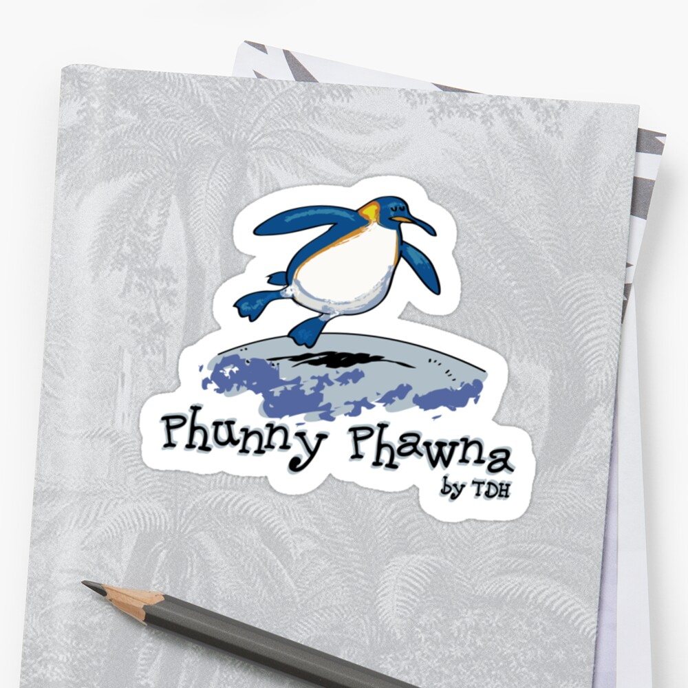 Phunny Phawna - Penguin by thedrawinghands