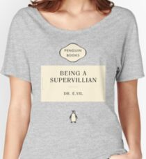 Penguin Classic SuperVillian Book Women's Relaxed Fit T-Shirt