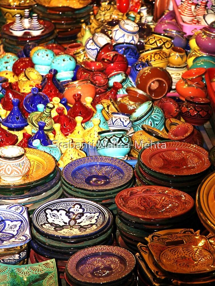 Rainbow Stalls by Srabanti Maitra-Mehta