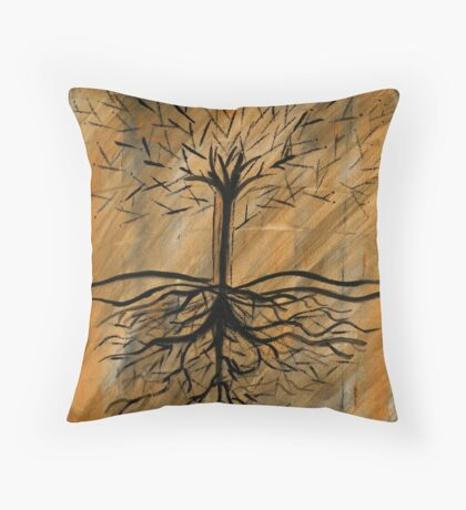 Deep Roots Throw Pillow