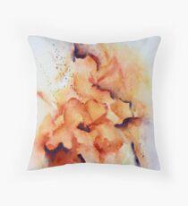 Beatrice Gladiolus Throw Pillow