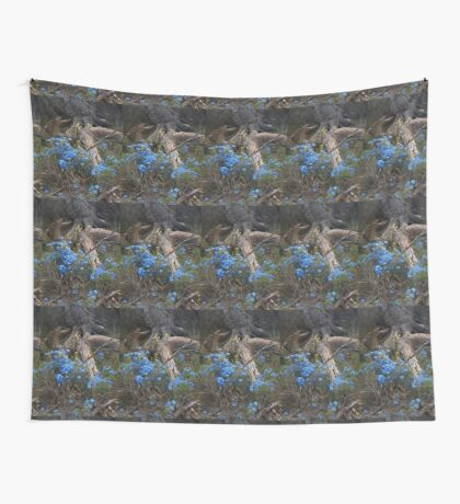 Lechenaultia and Tree Wall Tapestry