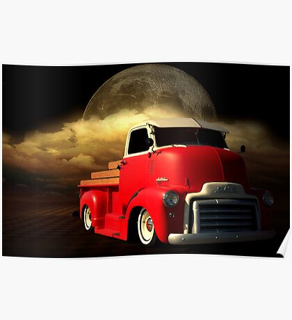 1949 GMC Cab Over Truck Poster