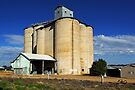 Silos at Grenfell by Darren Stones