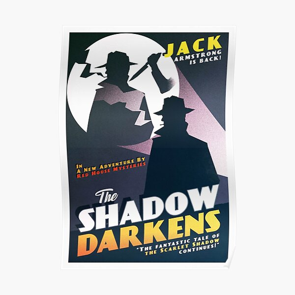 The Shadow Darkens Poster