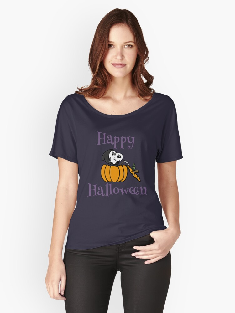 Don't Fear The Snoopy Women's Relaxed Fit T-Shirt Front
