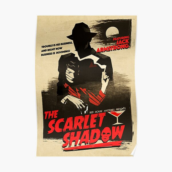 The Scarlet Shadow Poster