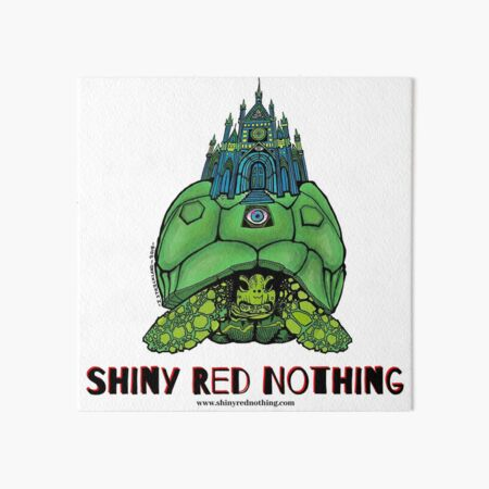 Shiny Red Nothing - The Wound Upon the Dead Man Art Board Print