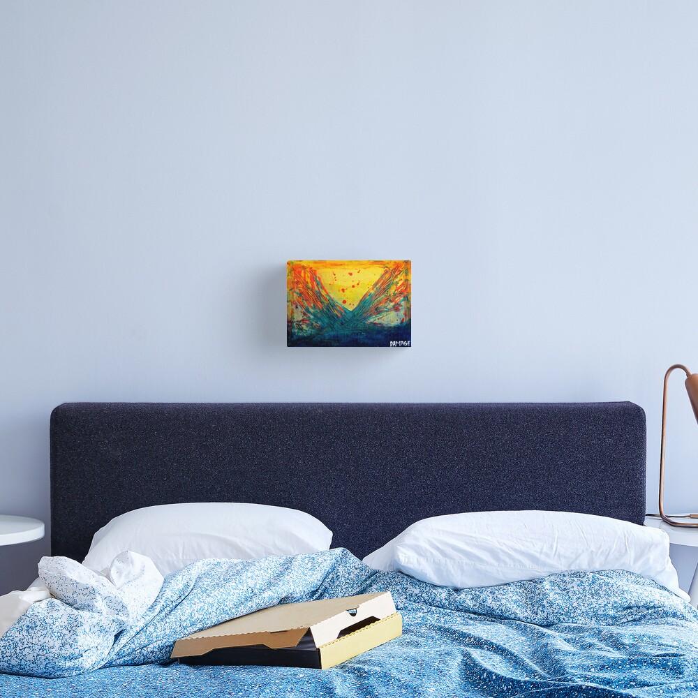 Volcanic Splash Canvas Print