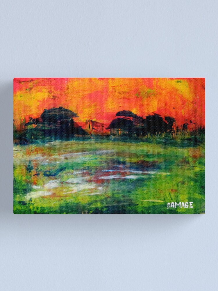 Alternate view of The Wet Patch Canvas Print