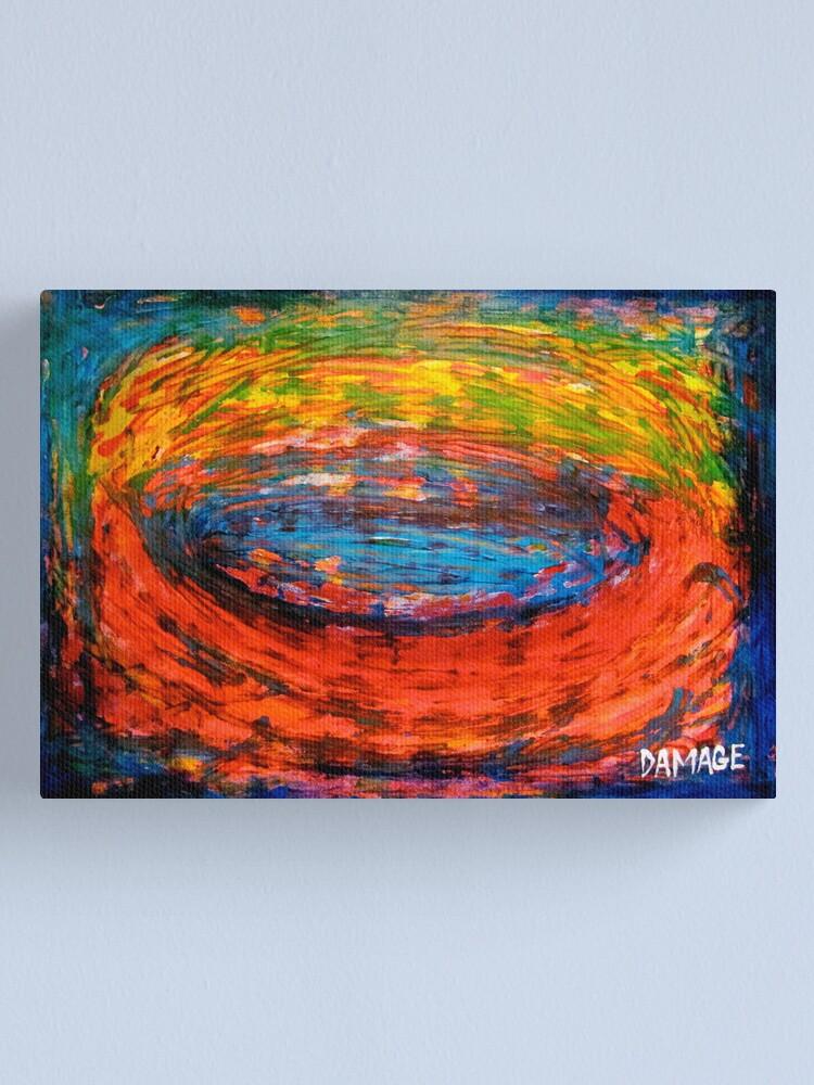 Alternate view of Whirlpool Canvas Print