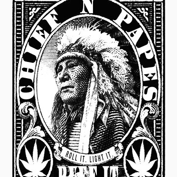 Chief'n Stamp by nativeclothing